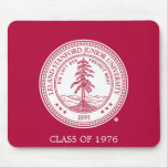 Stanford University Seal White Background Mouse Pads