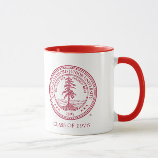 Stanford University Seal White Background Mug