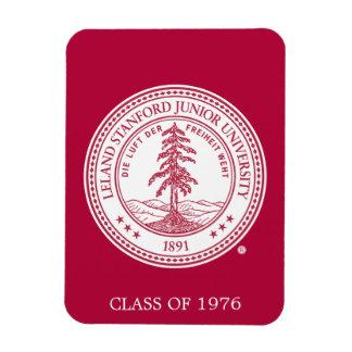 Stanford University Seal White Background Rectangular Photo Magnet