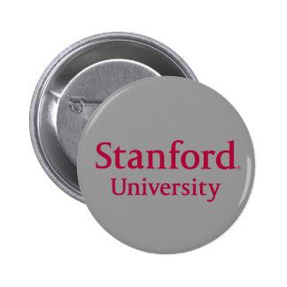 Stanford University Stacked 2 Inch Round Button