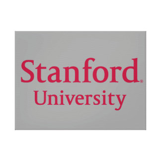 Stanford University Stacked Canvas Print