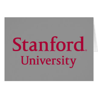 Stanford University Stacked Card
