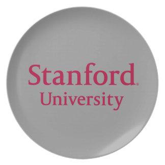 Stanford University Stacked Dinner Plate