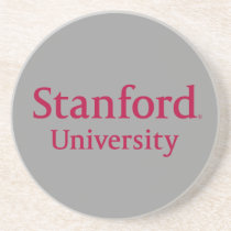 Stanford University Stacked Drink Coaster