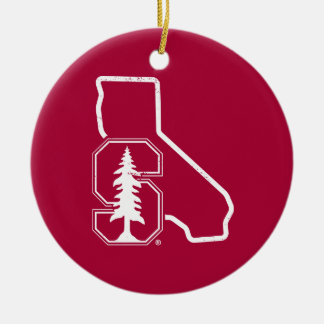 Stanford University | Standford Tree State Logo Ceramic Ornament