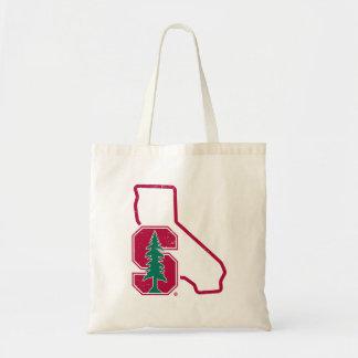 Stanford University | Standford Tree State Logo Tote Bag