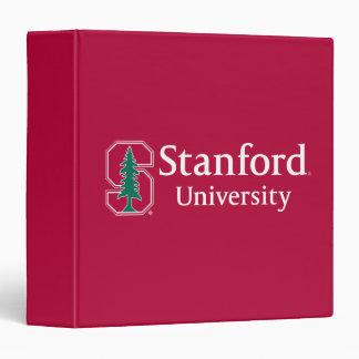 "Stanford University with Cardinal Block ""S"" & Tree 3 Ring Binder"