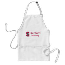 "Stanford University with Cardinal Block ""S"" & Tree Adult Apron"