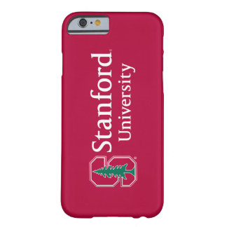 """Stanford University with Cardinal Block """"S"""" & Tree Barely There iPhone 6 Case"""