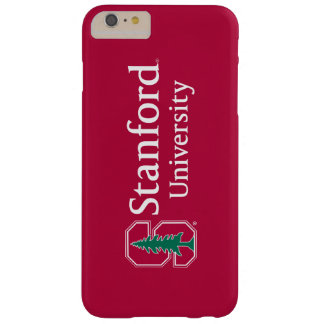 """Stanford University with Cardinal Block """"S"""" & Tree Barely There iPhone 6 Plus Case"""