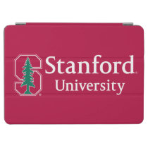 "Stanford University with Cardinal Block ""S"" & Tree iPad Air Cover"