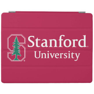 """Stanford University with Cardinal Block """"S"""" & Tree iPad Cover"""