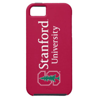 """Stanford University with Cardinal Block """"S"""" & Tree iPhone SE/5/5s Case"""