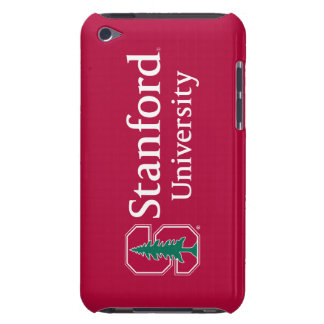 """Stanford University with Cardinal Block """"S"""" & Tree iPod Touch Case"""