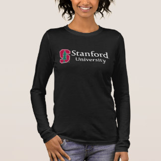 """Stanford University with Cardinal Block """"S"""" & Tree Long Sleeve T-Shirt"""