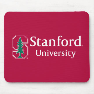 """Stanford University with Cardinal Block """"S"""" & Tree Mouse Pad"""