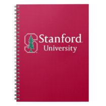 """Stanford University with Cardinal Block """"S"""" & Tree Notebook"""