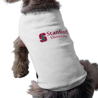 "Stanford University with Cardinal Block ""S"" & Tree Pet Shirt"
