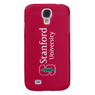 """Stanford University with Cardinal Block """"S"""" & Tree Samsung Galaxy S4 Case"""