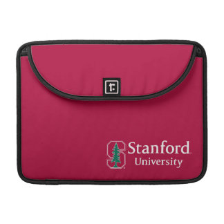 """Stanford University with Cardinal Block """"S"""" & Tree Sleeve For MacBook Pro"""