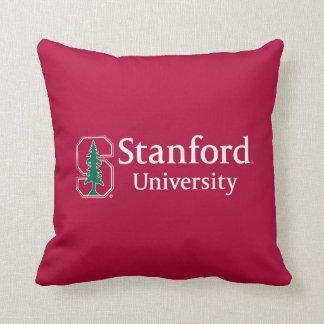 "Stanford University with Cardinal Block ""S"" & Tree Throw Pillow"