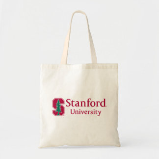 "Stanford University with Cardinal Block ""S"" & Tree Tote Bag"