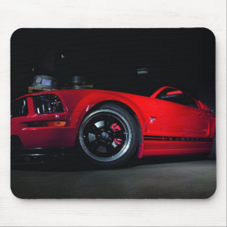 Stang red GT Mouse Pad