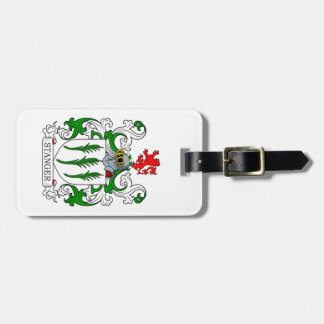 Stanger Coat of Arms Bag Tag