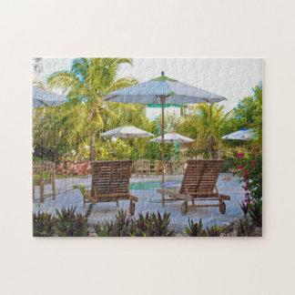 Staniel Cay Bahamas. Jigsaw Puzzle