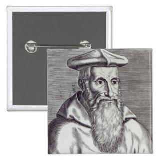 Stanislaus Hosius 2 Inch Square Button
