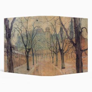 Stanislaw Wyspianski - Planty Park at Dawn, 1894 Vinyl Binder