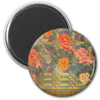 Stanisław Wyspiański ~ Roses 2 Inch Round Magnet