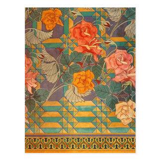Stanisław Wyspiański ~ Roses Postcard