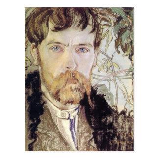 Stanislaw Wyspianski Self Portrait, 1902 Postcard