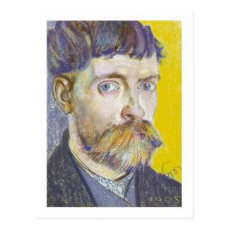 Stanislaw Wyspianski Self Portrait, 1905 Postcard