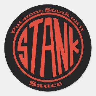 Stank Sticker - Round