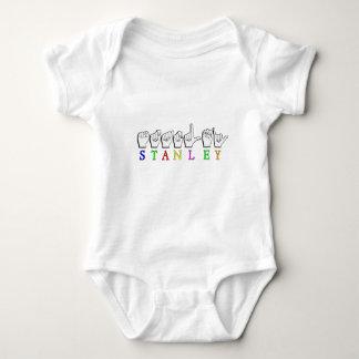 STANLEY  ASL FINGERSPELLED SIGN BABY BODYSUIT