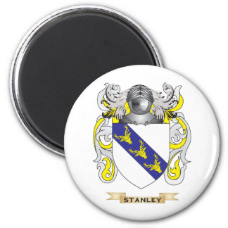 Stanley Coat of Arms (Family Crest) 2 Inch Round Magnet