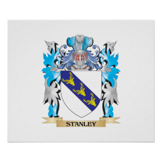 Stanley Coat of Arms - Family Crest Poster
