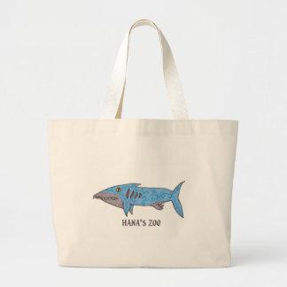 Stanley el tiburón bolsas lienzo