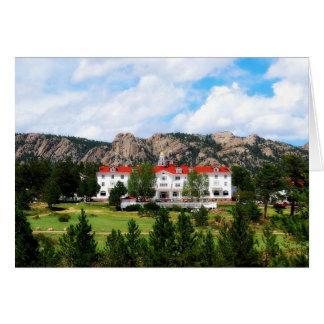 Stanley Hotel Estes Park Colorado Card