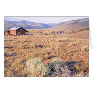 Stanley, Idaho Tarjeta De Felicitación
