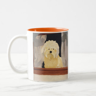 Stanley In The Window Two-Tone Coffee Mug