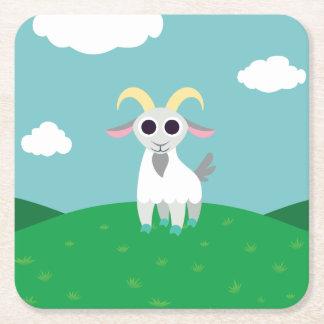 Stanley la cabra posavasos desechable cuadrado
