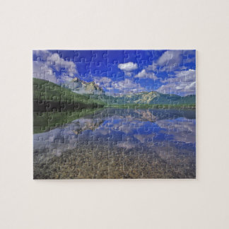 Stanley Lake in the Sawtooth Mountains of Idaho Jigsaw Puzzle