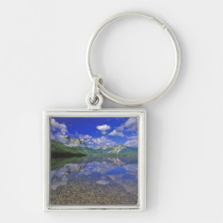 Stanley Lake in the Sawtooth Mountains of Idaho Keychain