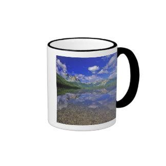 Stanley Lake in the Sawtooth Mountains of Idaho Ringer Coffee Mug