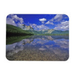 Stanley Lake in the Sawtooth Mountains of Idaho Rectangle Magnet