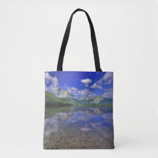Stanley Lake in the Sawtooth Mountains of Idaho Tote Bag