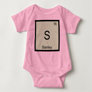 Stanley Name Chemistry Element Periodic Table Baby Bodysuit